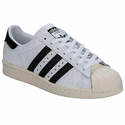 uk availability a7470 5399d SCARPE DONNA ADIDAS SUPERSTAR 80 s BIANCO S76416