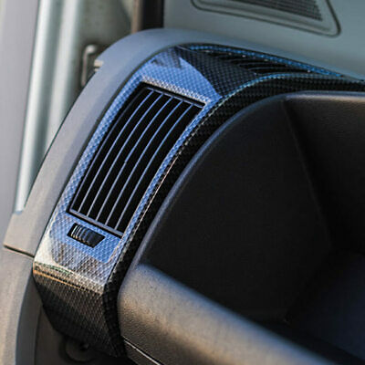 VAN X Dashboard Air Vent (Dark Carbon) For Fiat Ducato, Peugeot Boxer, Citroen R