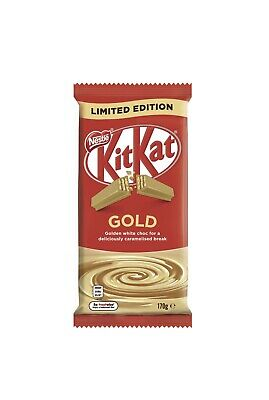 Kit Kat Gold 170g Blocks SOLD OUT Limited Stock Like Caramilk LIMITED EDITION
