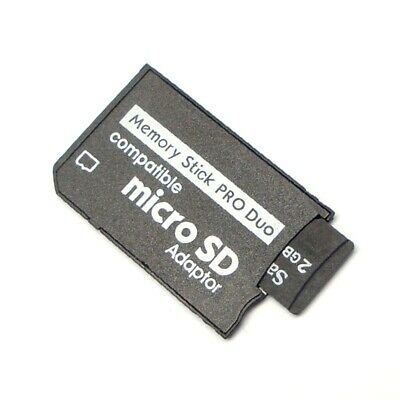 New Micro-SD SDHC TF Pro Duo Memory Stick MS Adapter Card for Sony-Camera PSP UK