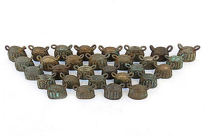 Wholesale 30 Antique bronze water buffalo bell Mix Small Size Don't Miss
