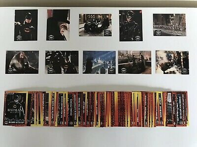 Batman Returns Trading Cards Full Complete Set Of 88 Cards 10 Special 1992 Topps