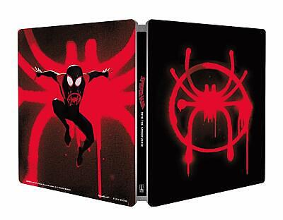 Spider-Man Into the Spider-Verse Steelbook + Magnet (Blu-ray + 4K UHD) PRE-ORDER