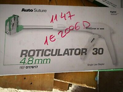 Tyco auto suture Roticulator 30mm-4.8 Ref 017617 EXP FINISH