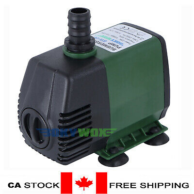 110V Submersible Water Pump 2800LPH Fish Tank Pond Fountain Fall Hydroponic 32W