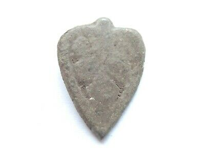 IRON AGE Hallstatt Culture ANCIENT Celtic Bronze DRIUD Amulet > Stylized VAGINA*
