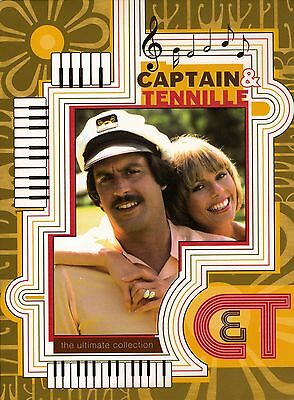 Captain & Tennille Ultimate Collection T.V. Series 3-Disc DVD Set with NEW CD