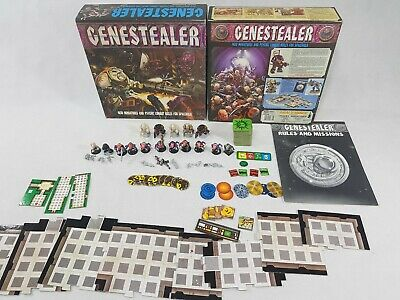 Genestealer 1st edition Space Hulk Board Game Expansion + some extras [ENG,1990]