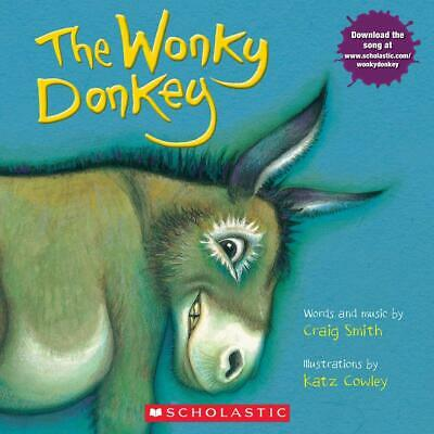 The Wonky Donkey by Craig Smith (English) Paperback Book funny Children Rhimes