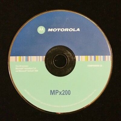 MOTOROLA MPx200 Software CD / CD-ROM