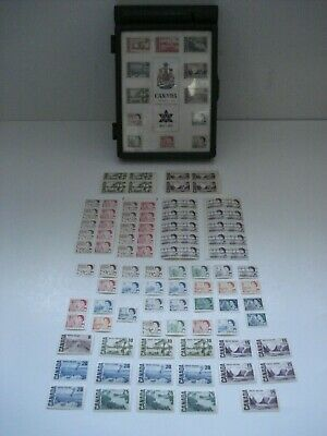 Canada Stamp Centennial Issue 1867/1967 Plastic Case & 95 Stamps  Mint Nh-Vf