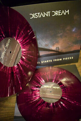 Distant Dream - It All Starts From Pieces // Vinyl LP limited on Transparent vio