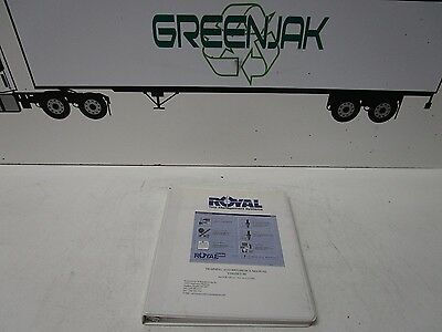 Royal Tool Management Systems Training And Reference Manual Variset 111 - Used