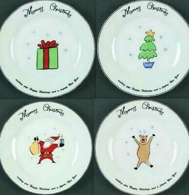Merry Brite Christmas Holiday Cereal Soup Salad Bowl Replacement Pieces (Pick 1)