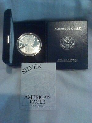 2003-W Silver American Eagle SAE Proof w/Original Packaging & COA (10503)