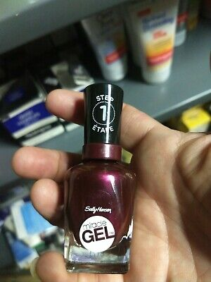 SALLY HANSEN STEP 1 Miracle Gel Nail Polish Frosted Berries Brand ...