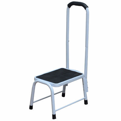 Kitchen Bath Safety Step Stool Mobility Support Handrail Aid Platform Slip Resis