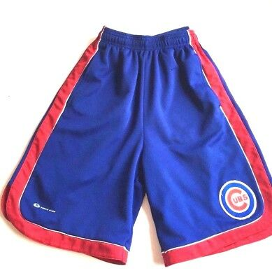 Vintage Chicago CUBS Basketball shorts True Fan Boys side M (12) Mesh Athletic