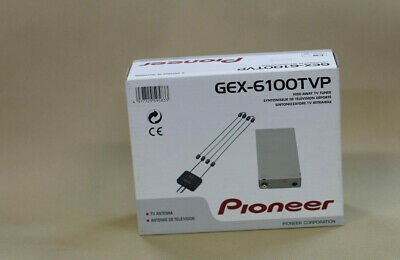 Genuine PIONEER GEX-6100TVP HIDE-AWAY TV & Antenna for  AVR-W6100