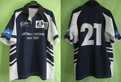 Maillot Rugby Ploermel Cotton Traders Porté #21 Jersey EDF - 5 / XL
