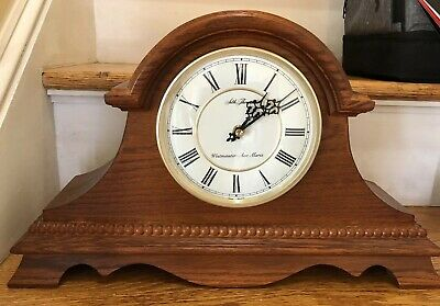 Vintage Seth Thomas Mantle Clock Westminster Chime Ave Maria German Movement
