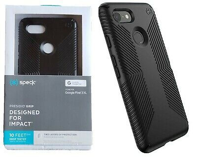 reputable site c3f12 08f05 SPECK PRESIDIO GRIP Case Dual Protection Cover For Google Pixel 3 XL Black