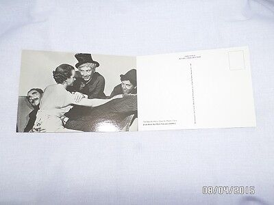 Vintage Postcard Marx Brothers GROUCHO HARPO CHICO Movie Stars Free Ship VG+
