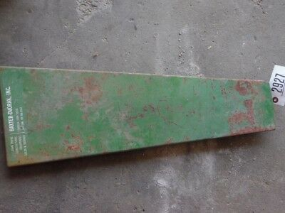 John Deere 4430 tractor right side hood panel Tag #2927