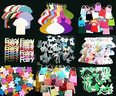 Craft Room Clearout Sale 10 - 100 X Piece Kits Card Making Die Cuts - Sale