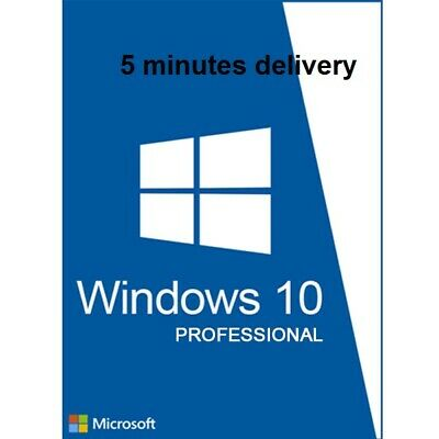 Windows 10 Professional  License Instant Genuine Win 10 Pro activation Key