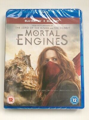 Mortal Engines (3D Blu-ray+Blu-ray)Ships From US Seller, Region Free, *Pre-order