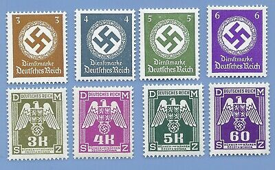 Nazi Germany Third Reich Nazi Swastika Stamp lot MNH WW2 Era #8