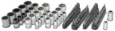 Powerbuilt 81 Pc. Socket Bit Set for Damaged and Tamper-Proof Fasteners - 642568