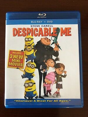 Despicable Me Blu-Ray dvd