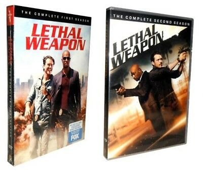 Lethal Weapon: The Complete Seasons 1 & 2  (DVD, 2018, 8-Disc Set)