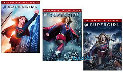 Supergirl - The Complete Seasons 1-3 (DVD, 2018, 15-Disc Set) 1 2 3