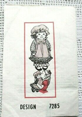 Fabric Sewing Pattern COWGIRL SOCK Doll Stuffed TOY #7050 DESIGN Western Vintage