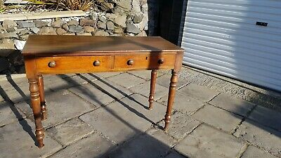 An Antique Victorian Mahogany  Console Table