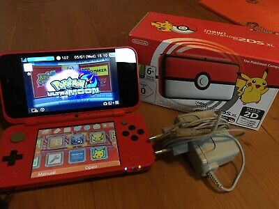 New Nintendo 2DS XL limitierte Pokeball Edition + Pokemon Ultramond