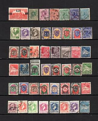 Algeria Africa French Colonies Collection Postal Used Stamp Lot (Alg 10)