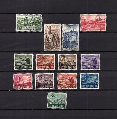 Luxembourg - Europe  Collection Of Postally Used Set Of Stamps Lot (Lux 10)