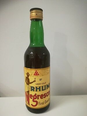 Rhum - Negresco - Very Old Rum 44° - First Quality - 48cl ! Quotation 85/100 !!!