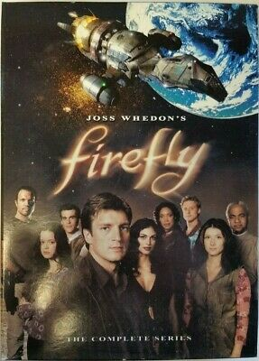Firefly The Complete Series (Dvd, 4 Disc Set) #i-32 C