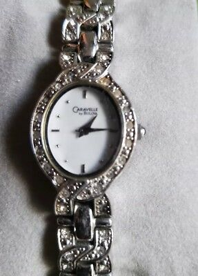 Caravelle Watch by bulova ladies crystal accent watch