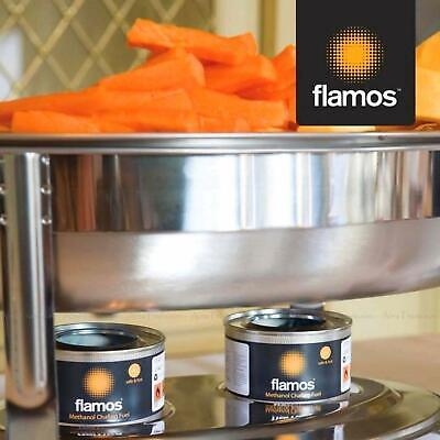 Flamos Ethanol Gel Chafing Dish Fuel Warmer Catering Food Heating Buffet 15 Cans