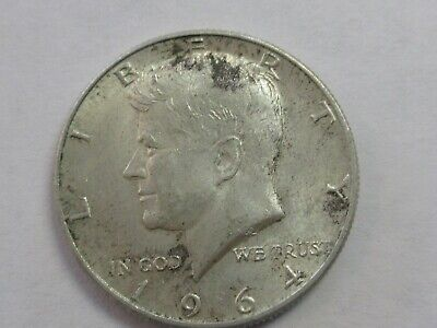 Lot #3Q, 1964D KENNEDY HALF DOLLAR, 90 %SILVER!