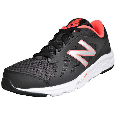 release date ae393 9fb1b New Balance 490 V4 Femmes Chaussures Course Fitness Gym Baskets Noires