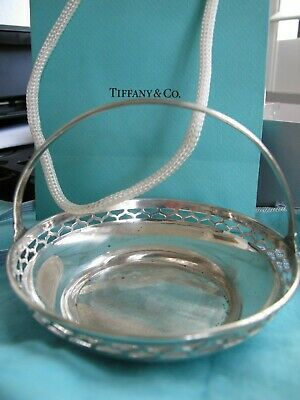 Unique Tiffany&Co Sterling Silver  Candy /Nut Basket
