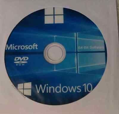 Microsoft Windows 10 Pro Professional 64-Bit Vollversion Product-Key + DVD neu