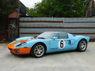 2006 Ford GT Heritage 2006 Ford GT, Heritage Blue,McIntosh Audio,Forged Wheels,8,500-Miles
